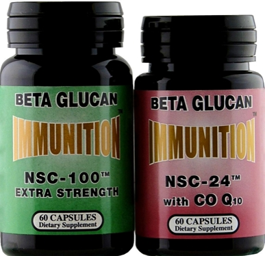 two bottles of dietary supplements
